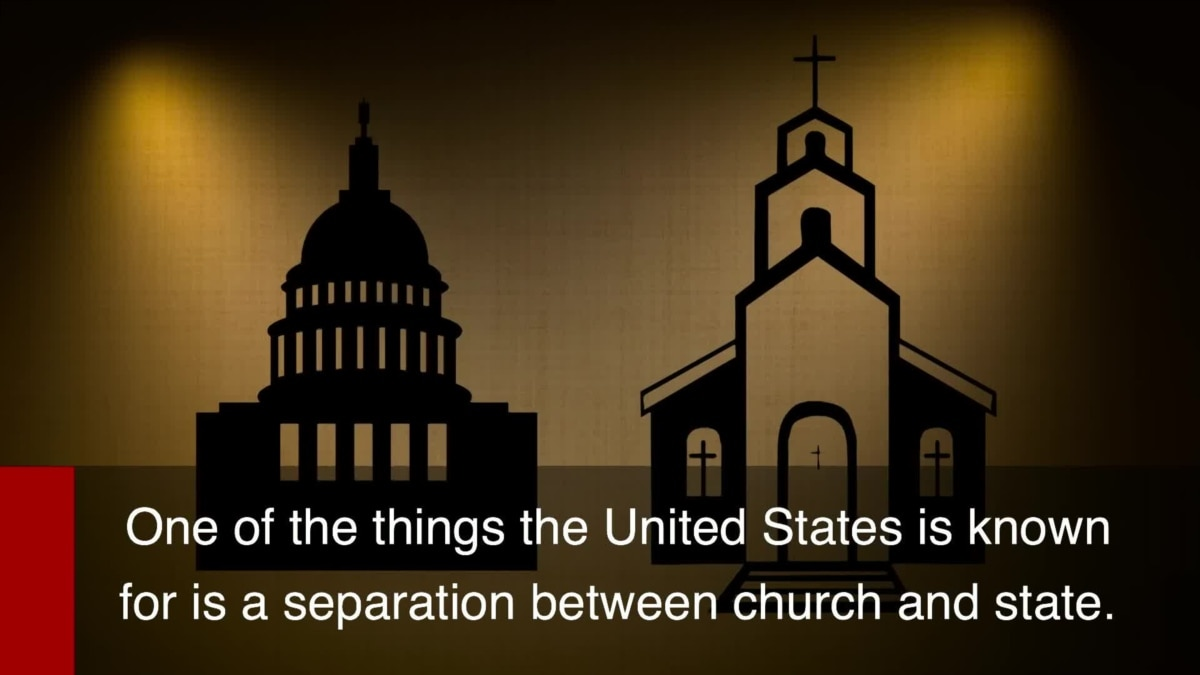 what 'separation between church and state' means