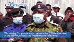 VOA60 Afrikaa - Kenya: Distance runner Agnes Tirop stabbed to death