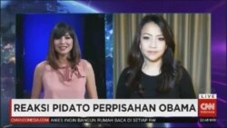 Laporan Langsung VOA untuk CNN Indonesia: Reaksi Perpisahan Obama