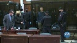 Олексія Навального засудили до трьох з половиною років ув'язнення в колонії загального режиму. Відео