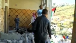 2014-11-19 美國之音視頻新聞: 以色列拆毀巴勒斯坦襲擊者的住宅