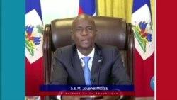 Prezidan Jovenel Moise pran lapawòl pou l eksplike sitiyasyon peyi a pandan li lanse apèl alinite
