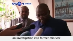 VOA60 Africa DRC Attorney General Investigates Former Minister for Alleged Militia Links