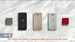 Le Mara Phone, un smartphone 100% africain