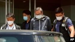 Cheung Kim-hung director executivo quando foi preso na quinta-feira