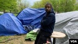 Vashington shahrida 2020-yilda boshpanasiz qolgan Maykl Doss