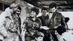 Աիդա Սերոբյան. «Կնոջ ներկայությամբ զինծառայող տղամարդիկ ավելի զուսպ են լինում, ավելի հավասարակշռված»