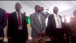 President Mnangagwa Happy in South Africa