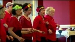 Line Dancing เข้าแถวเต้น ชะลอความแก่ ที่เวอร์จิเนีย