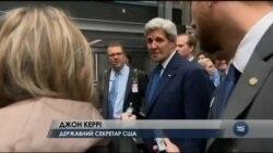 Частина підлеглих Керрі зневірились у дипломатії Обами, хочуть бомбардувань Асада. Відео
