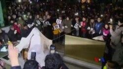 日本由於慰安婦雕像召回駐南韓大使