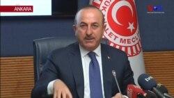 Çavuşoğlu: 'Ansızın Afrin'e Müdahale Edebiliriz'