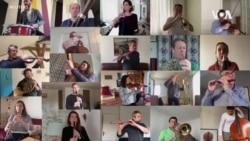 全球音乐家在网上与居家隔离者分享快乐