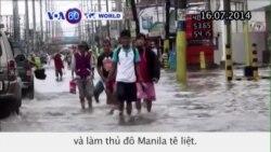 Bão Rammusun đổ bộ vào Philippines (VOA60)
