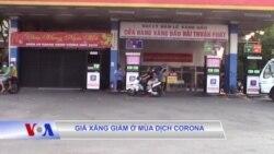 Giá xăng giảm ở mùa dịch corona