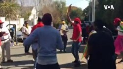 Zimbabweans in South Africa Protest Against Corruption, Zanu-PF Leadership