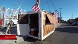 Học sinh giúp xây nhà cho cựu chiến binh vô gia cư
