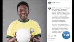 Pelé operado a tumor no cólon