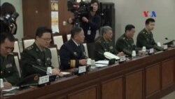 Trung Quốc và Hàn Quốc thảo luận quốc phòng
