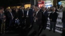 İzmir'de İstanbul İçin 'Adalet Nöbeti'