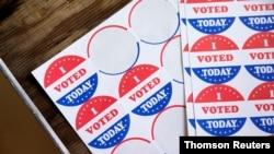 FILE - Voters cast ballots in the Democratic primary in Philadelphia, Pennsylvania, June 2, 2020.