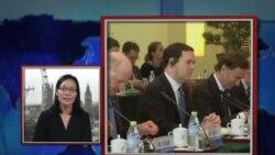 VOA连线:英国内对财政大臣访华反应