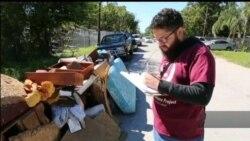 До ліквідації наслідків урагану «Гарві» у Г'юстоні долучаються нелегальні іммігранти. Відео