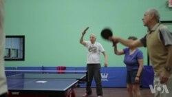 纽约的帕金森乒乓球队