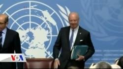 Suriye Barış Görüşmeleri Başladı