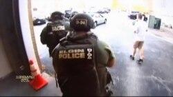 პოლიციელი ვიდეოკამერით