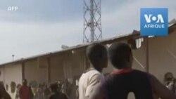 Des Nigérians saccagent un entrepôt alimentaire gouvernemental
