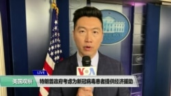 白宫要义(黄耀毅):特朗普政府考虑为新冠病毒患者提供经济援助
