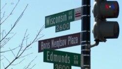Rusiyanın ABŞ-dakı səfirliyi önündəki küçəyə Boris Nemtsovun adı verildi