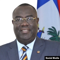 Bocchit Edmond, Haiti's ambassador to the United States. (Twitter)