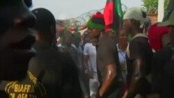 Opération ville morte dans le sud-est du Nigeria pour commémorer le Biafra (vidéo)