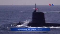 Tàu ngầm Nhật sắp ghé cảng Cam Ranh