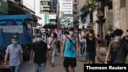 در چند ماه اخیر، هزاران نفر در هنگکنگ در اعتراض به اقدام چین برای تحمیل قانون امنیتی جدید، تظاهرات کردند.
