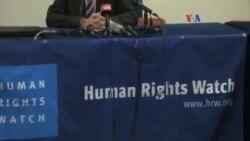 HRW: denuncia violaciones de DD.HH. en Venezuela