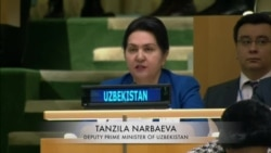 Uzbek Deputy PM at UN Women Summit