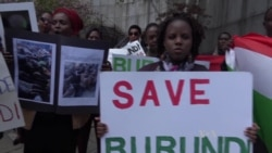 Burundian Protesters Call for Strong UN Presence
