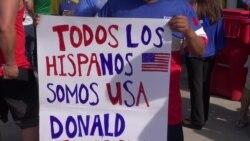 Hispanos temen posible llegada de Trump a la Casa Blanca