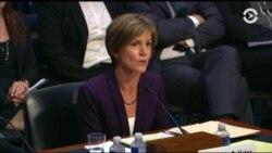 Свидетельства Йейтс в Сенате и реакция Трампа