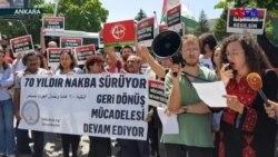 Ankara ve Diyarbakır'da Kudüs Protestoları