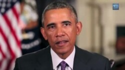 Le président Obama sur l'épidémie d'Ebola