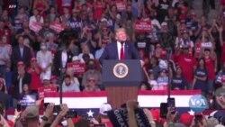 У четвер Дональд Трамп вирушив у черговий виборчий тур. Відео