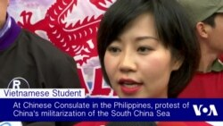 Rally in Philippines Demands Beijing Stop South China Sea Militarization