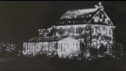 """""""Різдвяне село"""": Американська традиція віком півстоліття. Відео"""