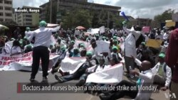 Kenya Doctors, Nurses Strike
