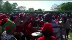 Zimbabweans Singing At Nelson Chamisa Rally in United Kingdom