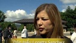 Pv: Dân biểu Loretta Sanchez về nhân quyền Việt Nam